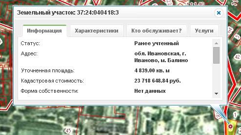 Номер земельного участка