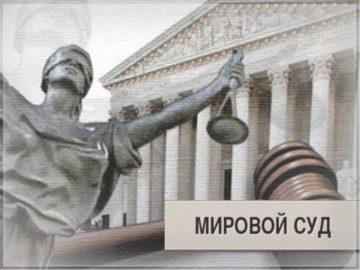 Мировой суд рассматривает много дел