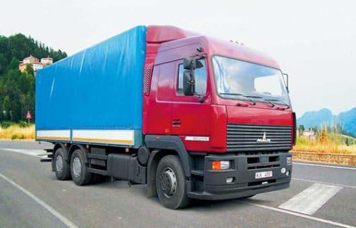 Категория С - легкие грузовики