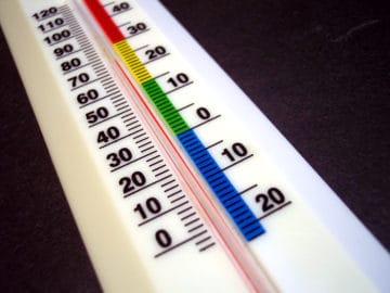 Комнатная температура оптимальна для человека