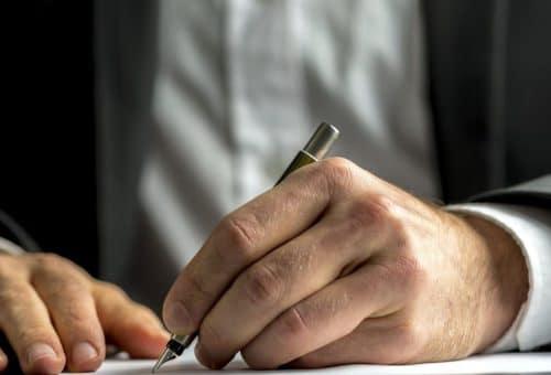 Заверенная нотариусом подпись
