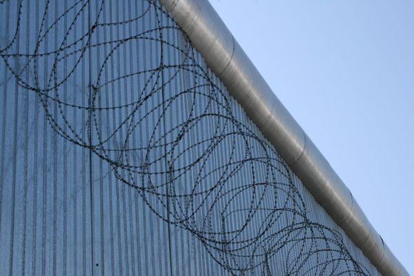Тюремный забор