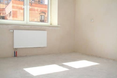 Радиаторы, стены, окна, полы - все должно быть готово