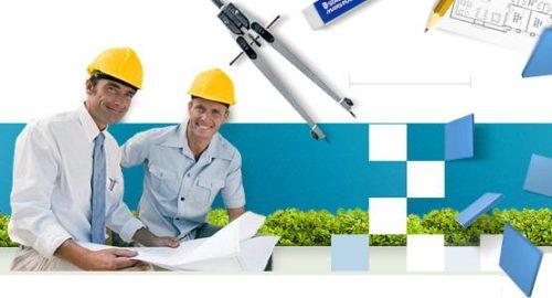 Чаще всего инженеры работают с строительных компаниях