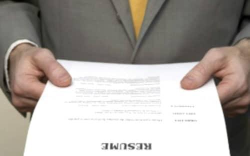 Резюме может помочь получить желанную должность