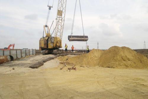 Земляные и строительные работы - важные признаки ОКС