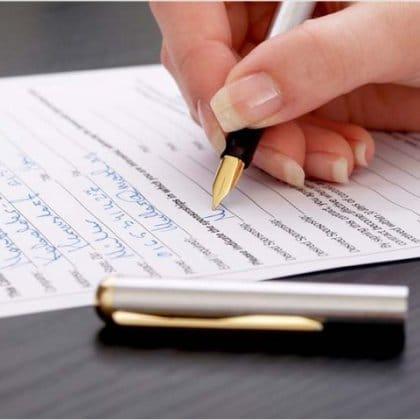 Как писать семейное положение если в разводе